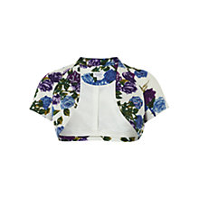 Buy Hobbs Invtation Pippa Bolero, Ivory/Multi Online at johnlewis.com