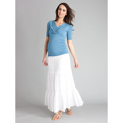 Buy Seraphine Adele Top, Azure Online at johnlewis.com