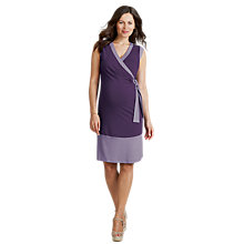 Buy Seraphine Bianca Dress, Purple Online at johnlewis.com