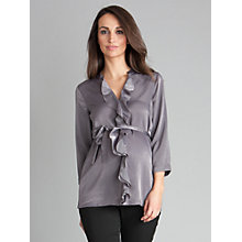 Buy Seraphine Elvie Shirt, Metallic Grey Online at johnlewis.com