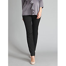 Buy Seraphine Polly Trousers, Black Online at johnlewis.com