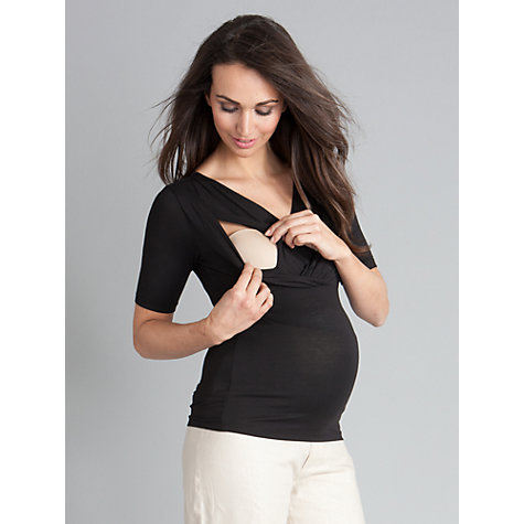 Buy Séraphine Adele Top, Black Online at johnlewis.com