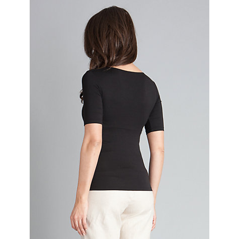 Buy Seraphine Adele Top, Black Online at johnlewis.com
