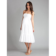 Buy Séraphine Collette Maternity Skirt/Dress, White Online at johnlewis.com