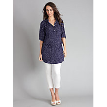 Buy Seraphine Evangeline Tunic, Navy Online at johnlewis.com