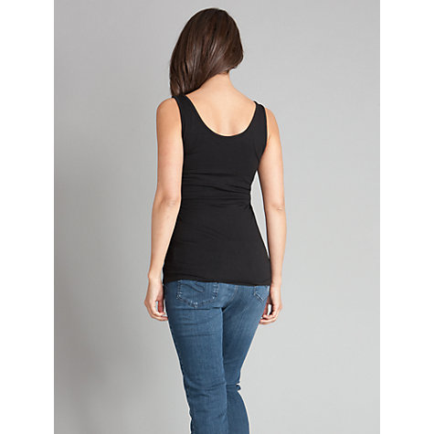 Buy Seraphine Sleeveless Leanne Top, Black Online at johnlewis.com