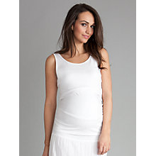 Buy Séraphine Leanne Maternity Top, White Online at johnlewis.com