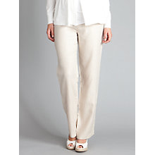 Buy Seraphine Leni Linen Trousers, Sand Online at johnlewis.com