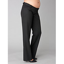 Buy Séraphine Mollie Bootleg Trousers, Black Online at johnlewis.com