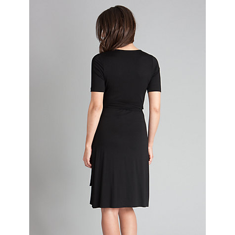 Buy Séraphine Renee Wrap Dress, Black Online at johnlewis.com