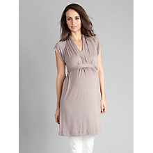 Buy Seraphine Beryl Panel Tie Tunic, Taupe Online at johnlewis.com
