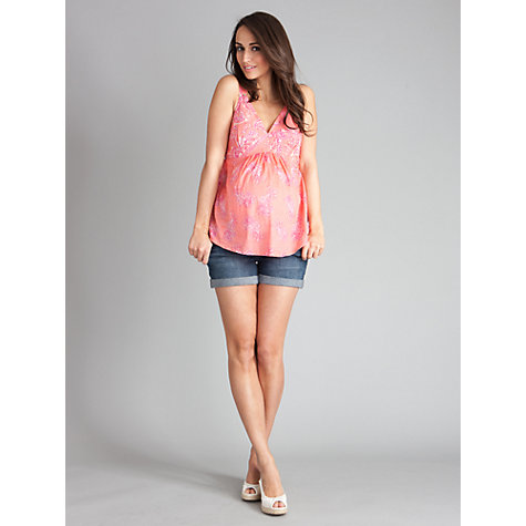 Buy Seraphine Brandi Top, Coral Online at johnlewis.com