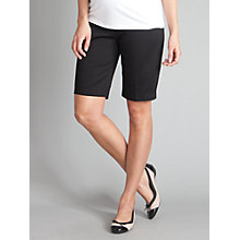 Buy Seraphine Lancy City Shorts, Black Online at johnlewis.com