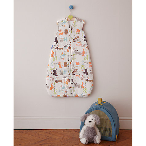 Buy Grobag Alphapets Travel Sleeping Bag, 1 Tog, Multi Online at johnlewis.com
