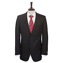 Buy Aquascutum Buckingham Plainweave Jacket, Navy Online at johnlewis.com