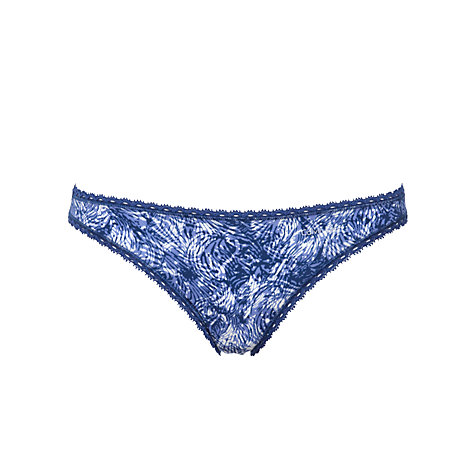 Buy Calvin Klein Seductive Comfort Briefs, Iris Animal Print Online at johnlewis.com