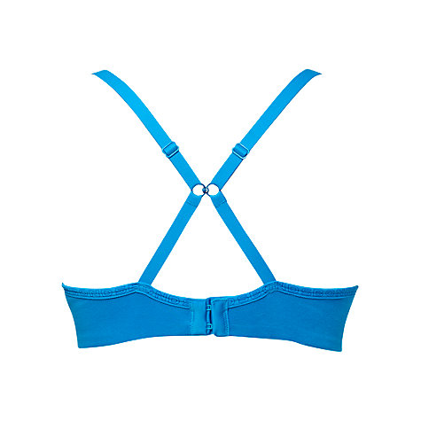 Buy Bonds Push It Bra, Pirate Blue Online at johnlewis.com