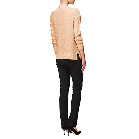 Buy Jaeger Sequin Jumper, Gold Online at johnlewis.com
