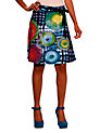 Buy Desigual Celi Skirt, Blue, XS Online at johnlewis.com