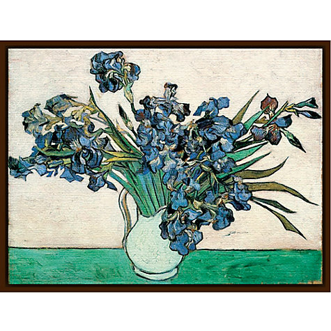 Buy Van Gogh - Vase of Irises Online at johnlewis.com