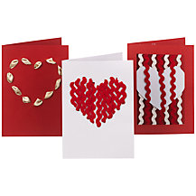 Make Your Own Valentine's Cards, Ribbon Designs