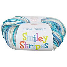 Buy Sirdar Snuggly Smiley Stripes DK Knitting Yarn, 50g Online at johnlewis.com