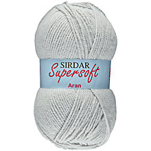Buy Sirdar Supersoft Aran Knitting Yarn, 100g Online at johnlewis.com