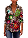 Desigual Chocolate Shirt, Brown