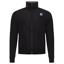 Buy G-Star Raw Nostra Zip Through Jumper, Black Online at johnlewis.com