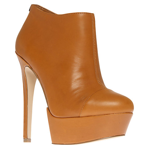 Buy Carvela Santana Platform Stiletto Heel Shoe Boots, Tan Online at johnlewis.com