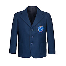 Buy Dolphin School Unisex Blazer, Royal Blue Online at johnlewis.com