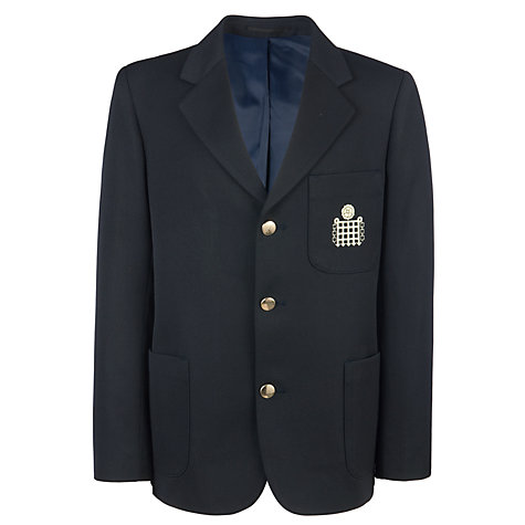 Buy Emanuel School Boys' Blazer, Navy Online at johnlewis.com