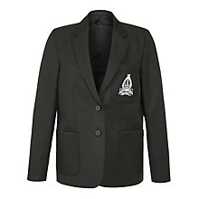 Buy The Minster School, Southwell, Girls' Blazer, Black Online at johnlewis.com