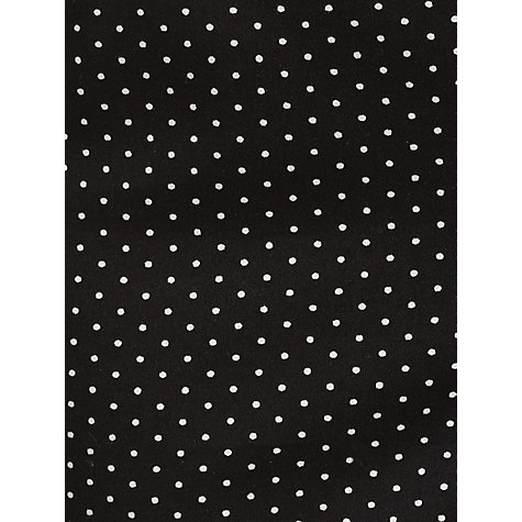 Buy COLLECTION by John Lewis Adele Spot Print Trousers, Black/Cream Online at johnlewis.com