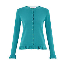 Buy COLLECTION by John Lewis Elyse Frill Cardigan Online at johnlewis.com