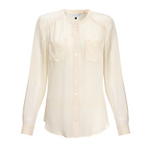 Buy COLLECTION by John Lewis Presley Blouse, Cream Online at johnlewis.com