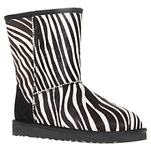 Buy UGG Animal Print Classic Short Exotic Boots Online at johnlewis.com
