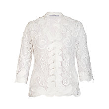 Buy Chesca Cornelli Lace Jacket, Ivory Online at johnlewis.com
