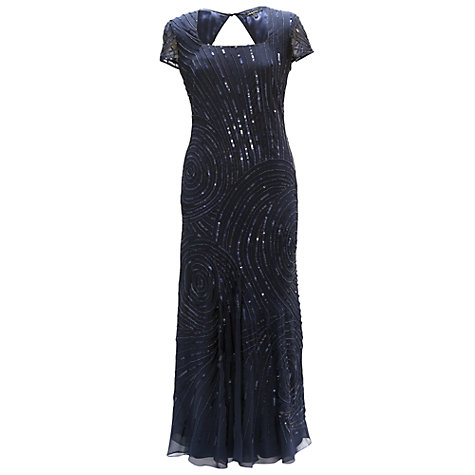 Buy Chesca Swirl Beaded Dress Online at johnlewis.com