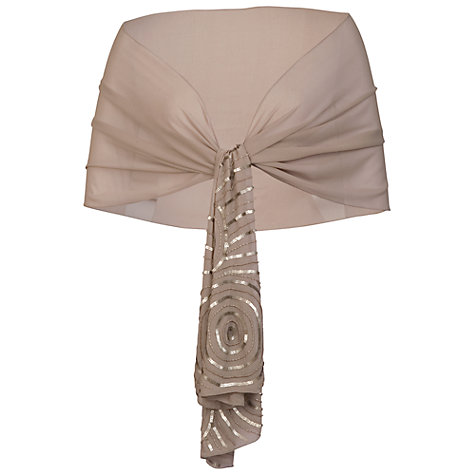 Buy Chesca Swirl Beaded Shawl Online at johnlewis.com