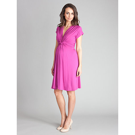 Buy Séraphine Jolene Maternity Dress, Fuchsia Online at johnlewis.com