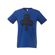 Buy G-Star Raw Clubs Graphic Print T-Shirt Online at johnlewis.com