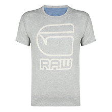 Buy G-Star Raw Logo Print Short Sleeve T-Shirt Online at johnlewis.com