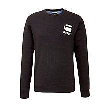 Buy G-Star Raw Carvell Logo Plain Jumper Online at johnlewis.com