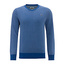 Buy G-Star Raw Victor Waffle Knit Jumper Online at johnlewis.com
