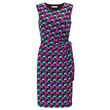 Buy COLLECTION by John Lewis Tia Spot Print Dress, Purple/Mojito Online at johnlewis.com