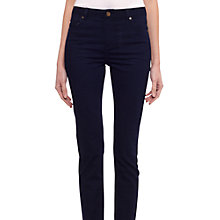 "Buy Whistles Holly Roll Up Jeans, Long Length, 32"", Denim Online at johnlewis.com"
