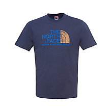 Buy The North Face Rust T-Shirt Online at johnlewis.com