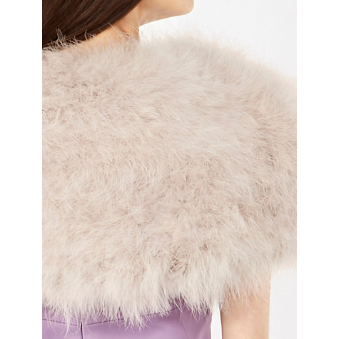 Buy Coast Felicity Feather Bolero Online at johnlewis.com