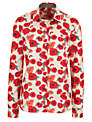 Barbour Ebony Shirt, Poppy Print